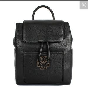 Tory burch britten backpack black